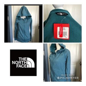 The North Face RTO Hoodie In Storm Heather Blue